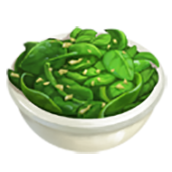 Spinach and Shallots