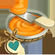 Heirloom Orange Icing