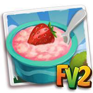 Strawberry Custard