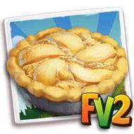 Snow Pear Pie