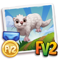 Prized Albino Ferret