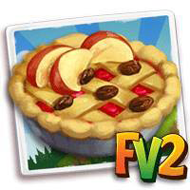 Raisin Fruit Pie