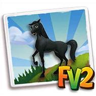 File:Black Arabian Horse.png