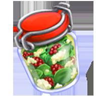 Raspberry Bing Salad