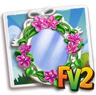 Weigela Floral Mirror