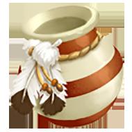Feather Pot
