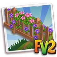 Floral Vine Fence