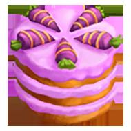 Purple Dragon Carrot Cake