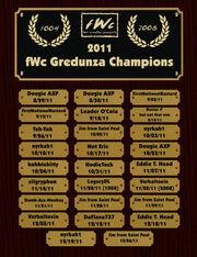 Gredunza champions 2011