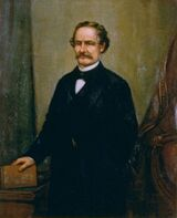 John B Weller by William F Cogswell, 1879