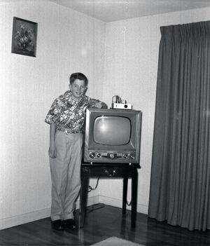 Early 1950s Television Set Eugene Oregon