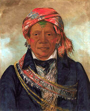 Bod-a-sin-Chief of the Tribe 1830