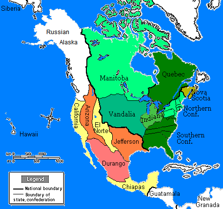 United States Map 1860 North America in 1860 | Sobel Wiki | FANDOM powered by Wikia