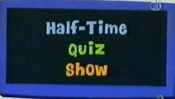 Half Time Quiz Show Logo