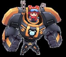 Bear Robot Vehicle