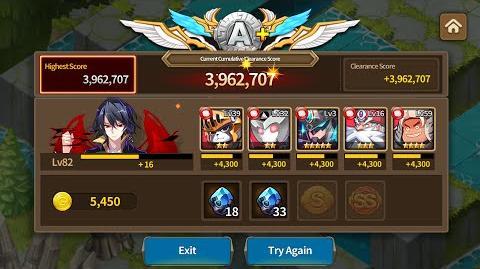 Guild Raid - Parsifal - 50 Turn Clash of Titans