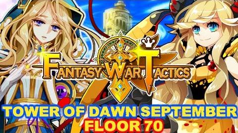Fantasy War Tactics ToD 70 Tower of Dawn September 2016