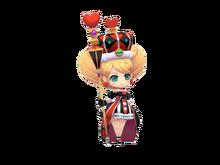 Heart Queen in Wonderland