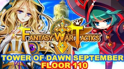 Fantasy War Tactics ToD 110 Tower of Dawn September 2016