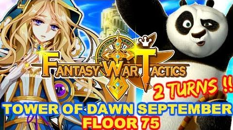 Fantasy War Tactics ToD 75 Tower of Dawn September 2016