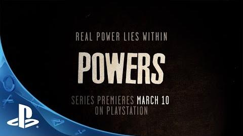 Powers A PlayStation Original Series Official Trailer