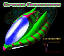 BSFZGP1 Green Amazone Profile Front