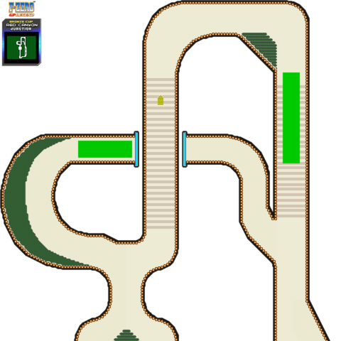 Junction Course Map in <i>GP Legend</i> (GBA).