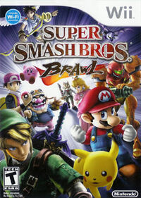 Super smash bros brawl boxart