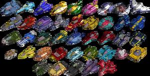 F-Zero GX machines
