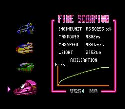 BS F-Zero Fire Scorpion