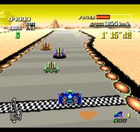 F-ZERO screenshot 3-colored cars