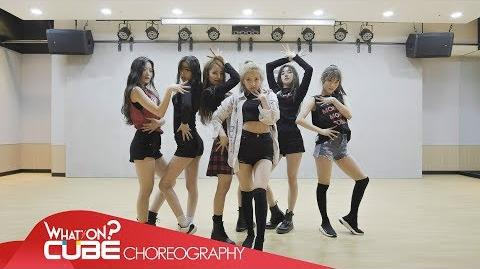 (여자)아이들((G)I-DLE) - 'LATATA' (Choreography Practice Video)