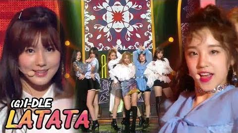 180512 (G)I-DLE - LATATA Show Music Core EP