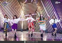 M Countdown LATATA Stage Gidle 4