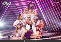 M Countdown LATATA Stage Gidle 7