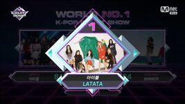 LATATA M Countdown 2nd Win