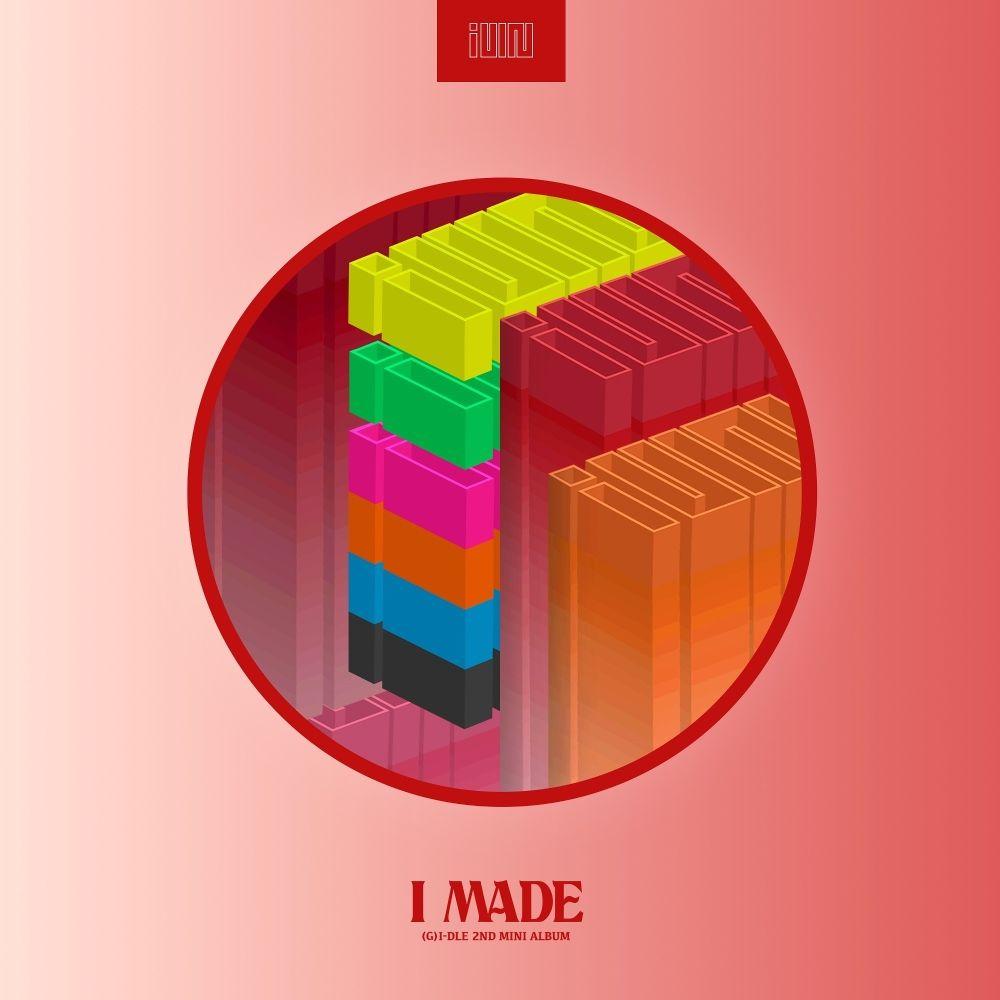 KOREA CD//G I-DLE I made 2nd Mini