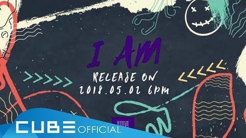 """(여자)아이들((G)I-DLE) - 1st mini album """"I am"""" Audio snippet"""
