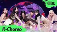 K-Choreo 6K (여자)아이들 직캠 'Oh my god' ((G)I-DLE Choreography) l @MusicBank 200417