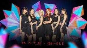 KATE×(G)I-DLE  LATATA クラッシュダイヤモンドアイズver.