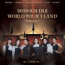 (G)I-DLE I-LAND Poster