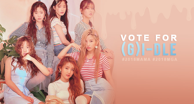 Vote for (G)I-DLE Home Page - 2