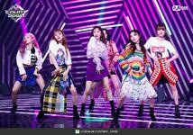 M Countdown LATATA Stage Gidle 3