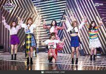 M Countdown LATATA Stage Gidle 6