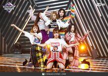 M Countdown LATATA Stage Gidle