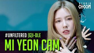 UNFILTERED CAM (G)I-DLE MIYEON((여자)아이들 미연) 'Oh my god' 5K BE ORIGINAL