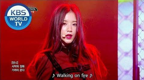 (G)I-DLE ((여자) 아이들) - LATATA Music Bank HOT DEBUT 2018.05.04