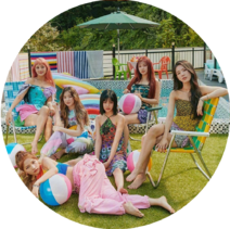 (G)I-DLE Wiki Main Page Design Element