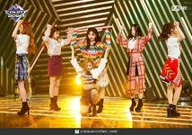M Countdown LATATA Stage Gidle 2