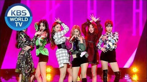180601 (G)I-DLE - LATATA Music Bank EP